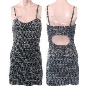Free People Ikat Print Cutout Mini Dress, Size M